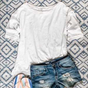 Solid White Mia On Or Off The Shoulder
